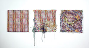Handwoven textile wall art- Mother Earth #1