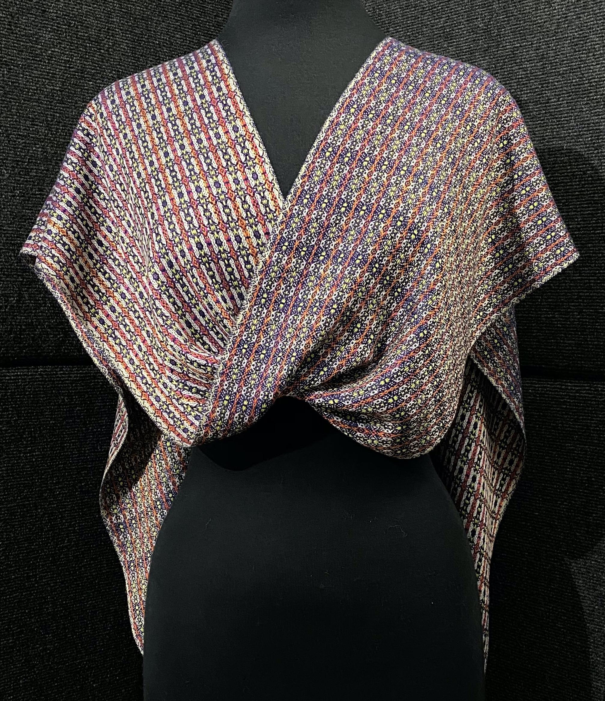 SBS-34 Deep Space silk scarf