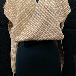 SBS-47 Butterscotch silk scarf