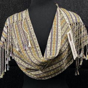 SBS-53 Khaki silk scarf
